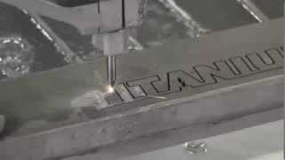 Гидроабразивная резка титана. Резка металла.(, 2013-10-31T16:14:35.000Z)