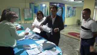 Сенсационные результаты голосования по выборам президента  РК