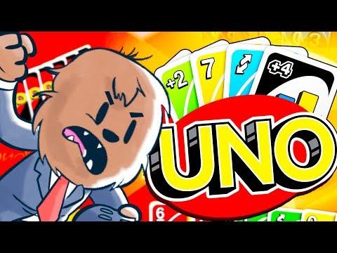 THE LONGEST ROUND OF UNO EVER! - UNO