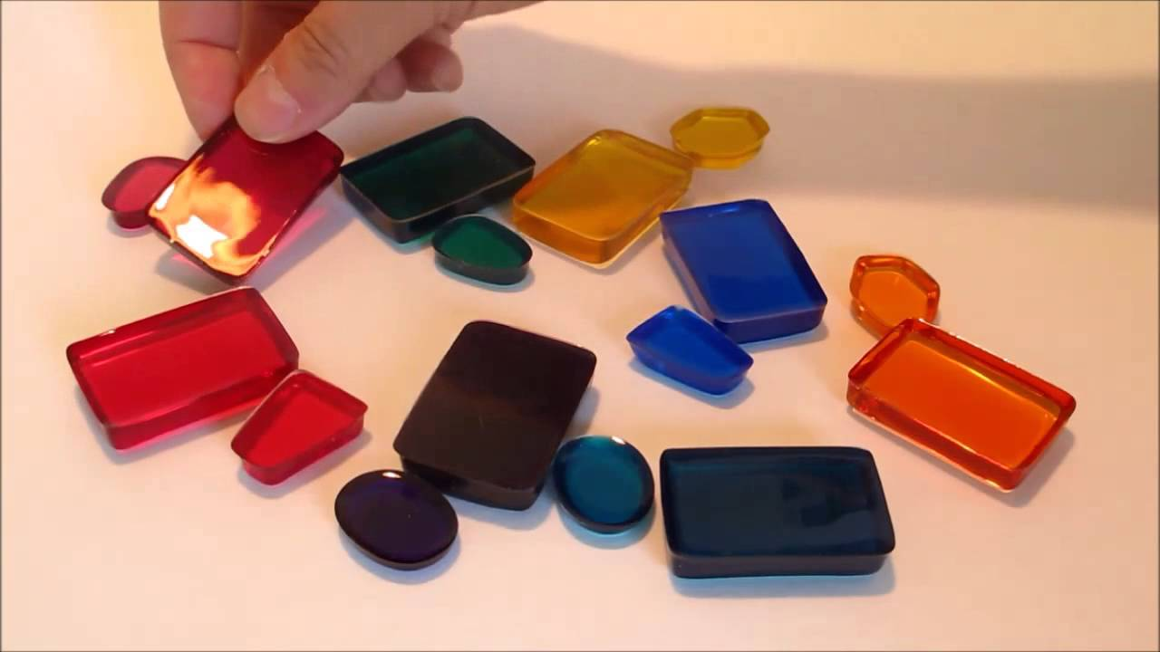 Resin Obsession color pigments for coloring epoxy resin - YouTube