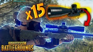 M24 with x15 SCOPE..!! | Best PUBG Moments and Funny Highlights - Ep.109
