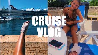I Broke My Foot Cliff Jumping in Bermuda*intense*