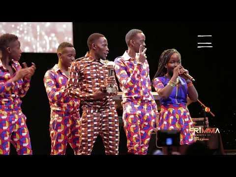 Ghetto Triplet Kids Win Best Dance Group Afrimma 2017