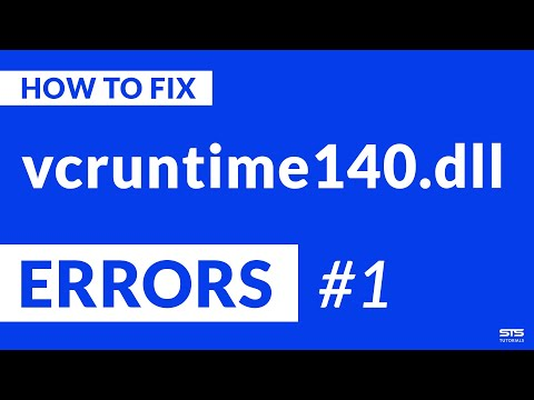 Vcruntime140.dll Missing Error | 2020 | Fix #1