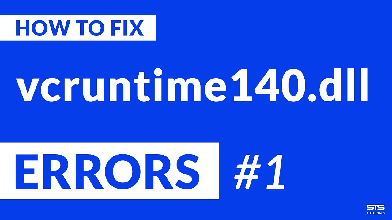 Vcruntime140 Dll Missing Error 2020 Fix 1 Youtube