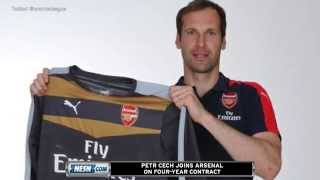 Petr Cech Joins Arsenal; Chelsea Fans Send Death Threats Via Twitter