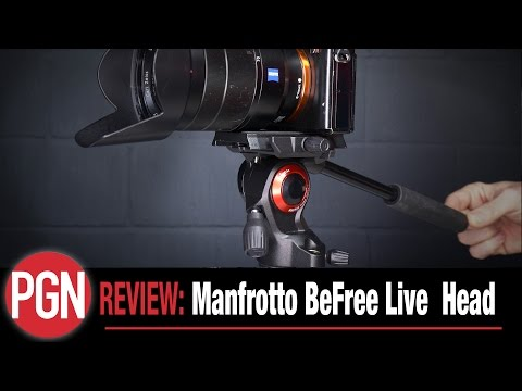 REVIEW: Manfrotto BeFree Live travel fluid head for video