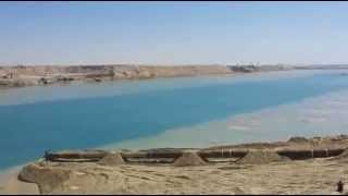 New Suez Canal scene in March 23, 2015