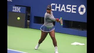 Serena sets up for New York