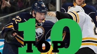 Top Ten NHL Hockey Fights of The 2015-2016 Season