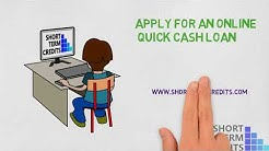 Apply for an online quick cash loan | Cash Advance Online Loans | Short term credits