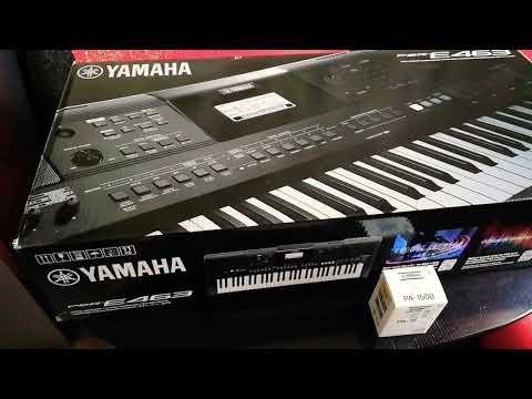 Синтезатор Yamaha PSR-E463 + Блок питания!