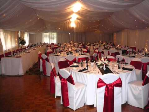 Red and White Wedding Decoration Ideas - YouTube