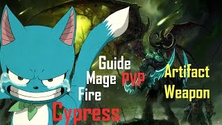 Fire Mage PVP Guide for Artifact Weapon