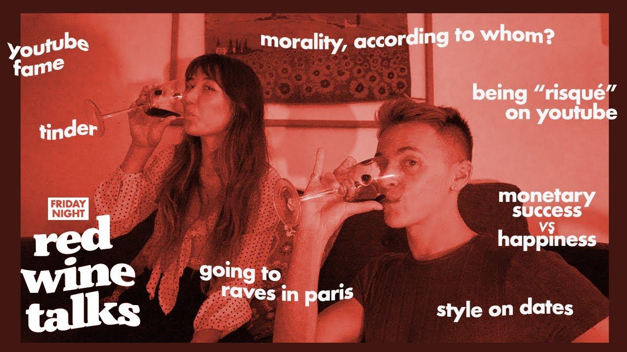 LET'S TALK ABOUT morality, tinder, youtube fame | w/  @bestdressed