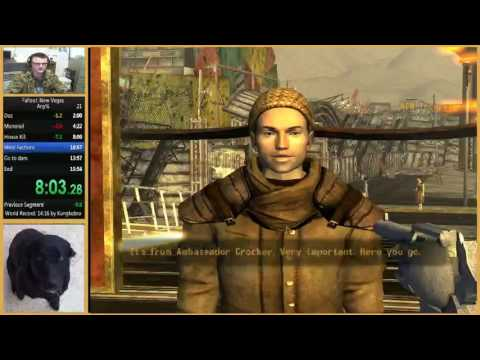 Fallout NV Any% Speedrun In 15:24