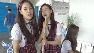 gugudan(구구단), gugudan's playing way at MV shooting 공개 [통통영상]