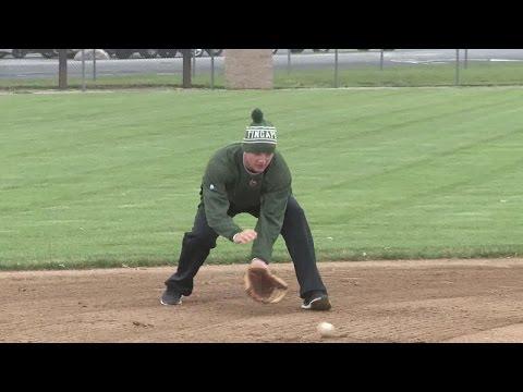 Josh VanMeter Holds Baseball Camp At Carroll High School On 9/11/14.