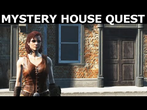 Fallout 4 Mods - Cannibal In Concord - Full Quest Walkthrough (Mystery House Quest Mod By T9X 69)
