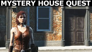 Fallout 4 Mods - Cannibal In Concord - Full Quest Walkthrough Mystery House Quest Mod By T9X 69
