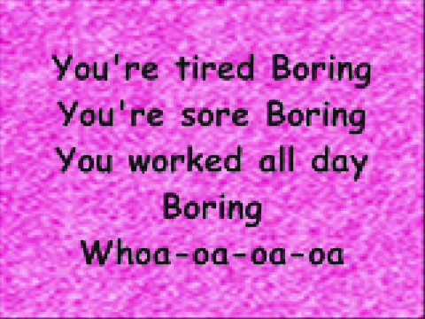 PINK - Boring (Lyr!cs)