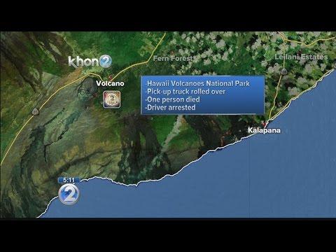 Deadly crash under investigation in Hawaii Volcanoes National Park