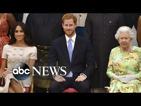 Queen Elizabeth announces agreement with Meghan and Harry