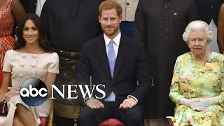 Download Queen Elizabeth announces agreement with Meghan and Harry | ABC News Mp3 and Videos