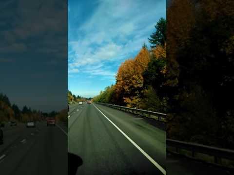 Hwy 30 Oregon in the fall