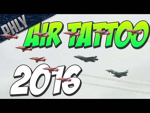 AIR TATTOO AIRSHOW 2016 - My Experience In The UK - (RIAT 2016)