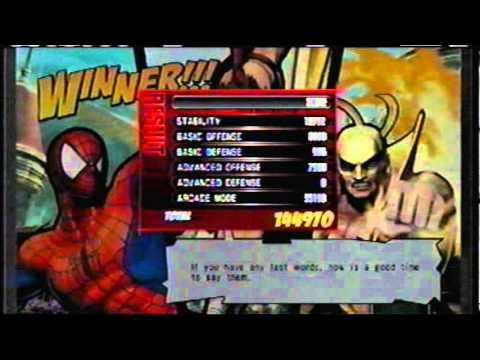 Requested Ultimate Marvel vs Capcom 3 Arcade (Spiderman, Strider Hiryu, Iron Fist) |