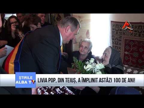 LIVIA POP DIN TEIUS A IMPLINIT ASTAZI 100 DE ANI