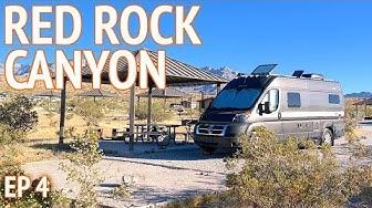 Red Rock Canyon Camping Near Las Vegas | Camper Van Life S1:E4