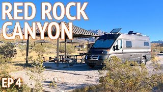Red Rock Canyon Camping Near Las Vegas | Camper Van Life S1:E4