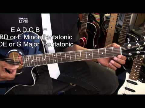 The Benefits Of Standard Guitar Tuning EADGBE Tutorial Lesson EBMTL HD
