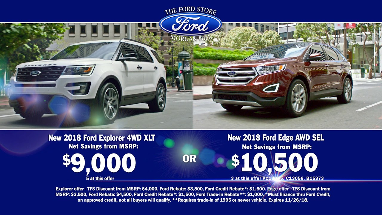 Black Friday Suv Ford Sell A Thon Youtube