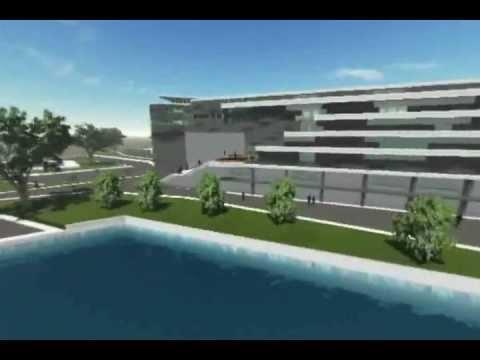 3D Animation Architecture - Bahrain Archelogi Museum