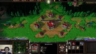 Warcraft 3: Survival Chaos #53 3.2 -  BattleCry Knights! (New Version)