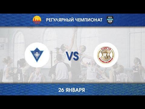 КРОНВЕРКСКИЕ БАРСЫ - СПАРТА НовГУ (26.01.2019)