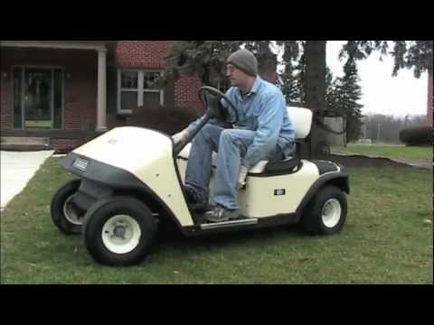 EZGO Gas Golf Cart For Sale on EBay - YouTube Gasoline Golf Cart With V on wheel barrow with v8, polaris with v8, 4 wheeler with v8,