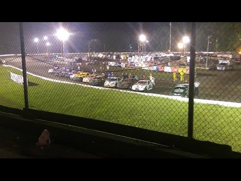 Stock car feature 7/30/16 Hamilton Co speedway.