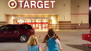 Shopping in Target & Toy Hunting