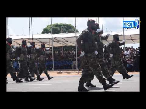 Le Togo fête son 56e anniversaire de l'indépendance par un défilé militaire et civil
