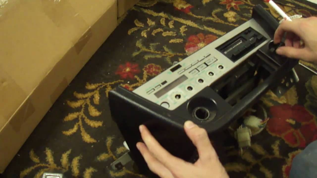 1982 Datsun 280ZX Stereo Removal - YouTube