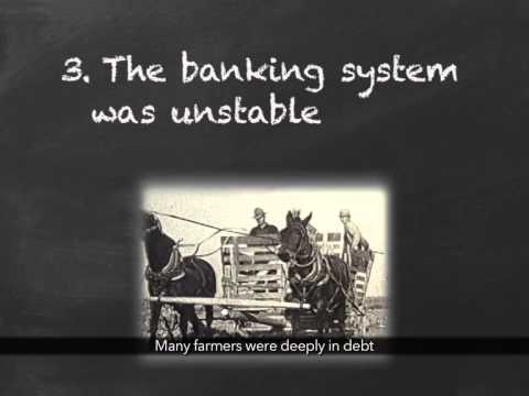 What Caused the Great Depression? (with Captions) - YouTube