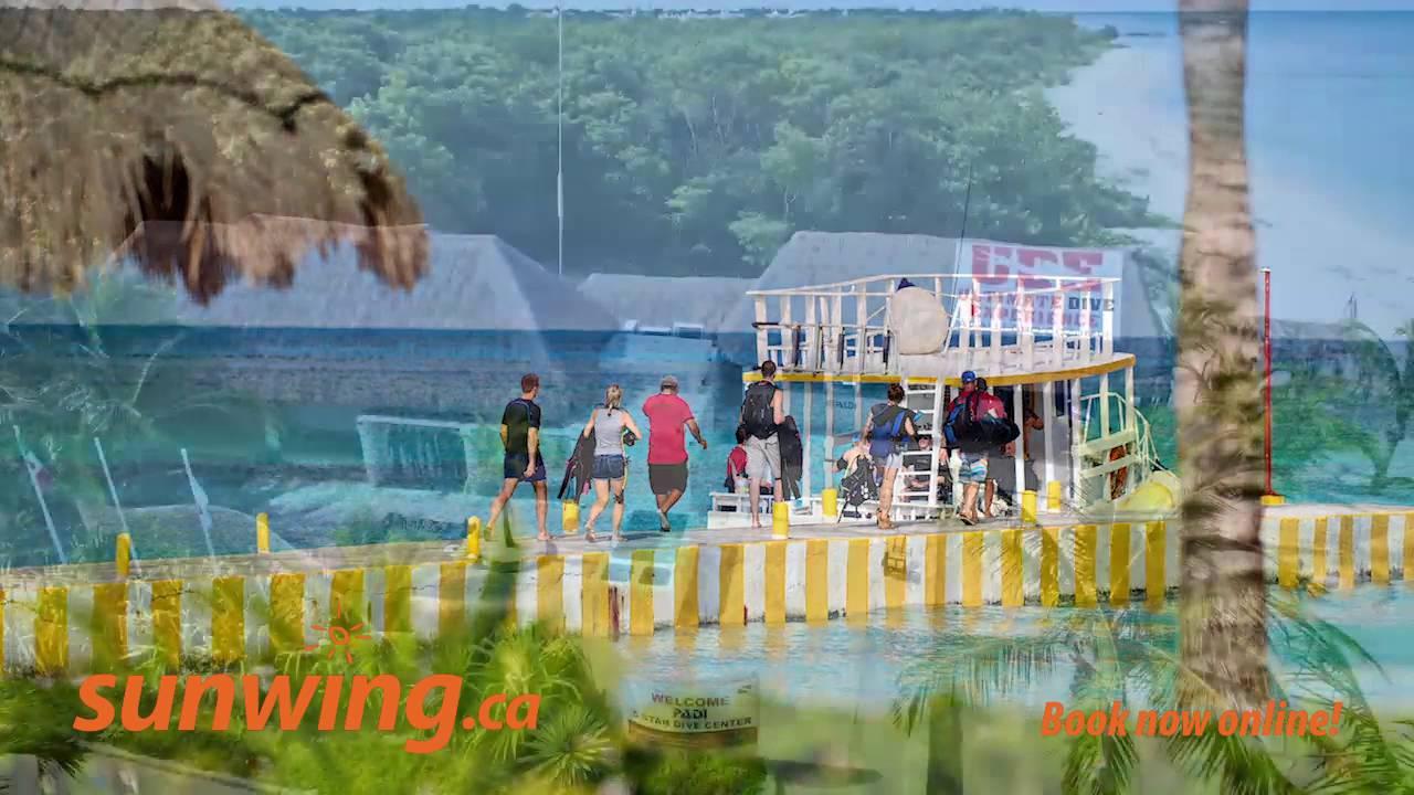 Allegro Cozumel All Inclusive Hotel Allegro Cozumel Cozumel Mexico L Sunwingca Youtube
