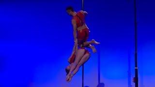 Anita Simikić i Zoran Simikić - K-Team - Zagreb [Pole Dance]