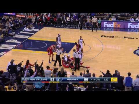 Marc Gasol vs Pelicans (15 - 2 - 2017)