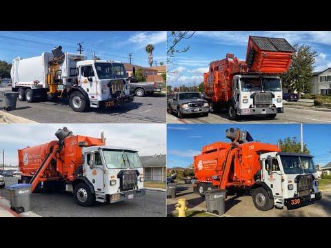 Waste Resources Peterbilt Garbage Trucks