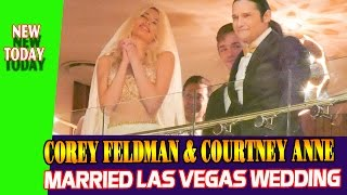 Corey Feldman Courtney Anne married las vegas wedding